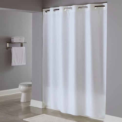 cortinas de baño hookless