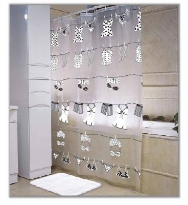Cortinas de baño plásticas nuevos diseños    156,00 en mercado libre