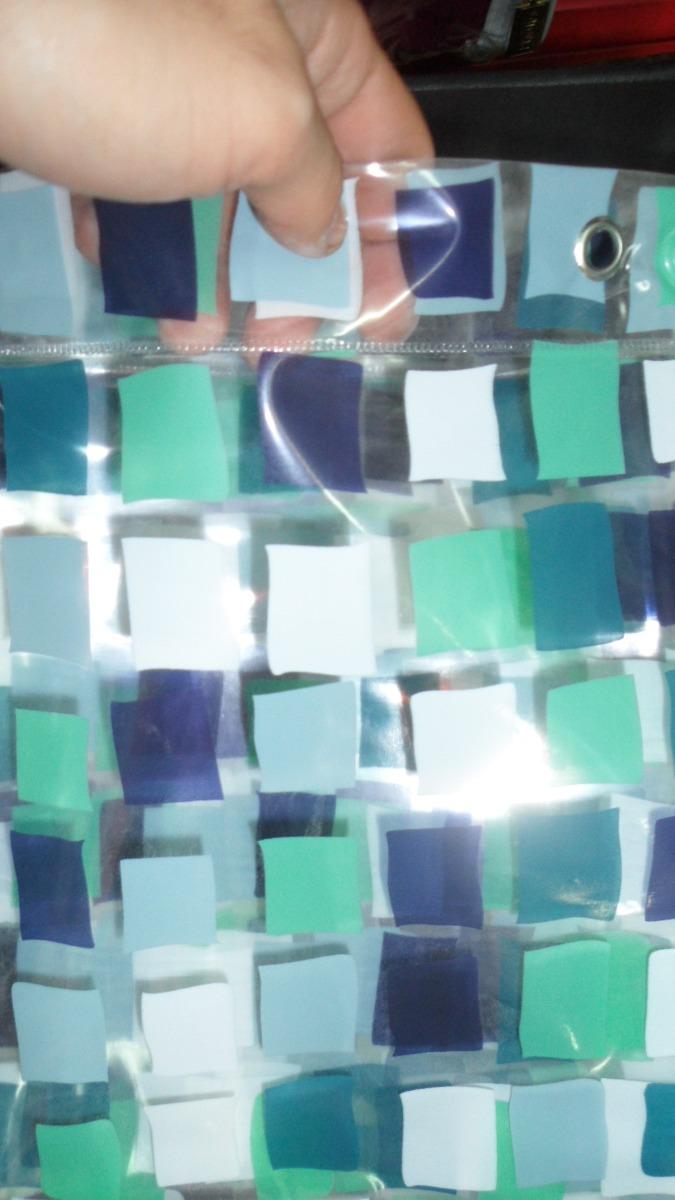 Cortinas De Baño Sin Ganchos:Cortinas De Baño Pvc Diseño Venecitas Especiales 1,80 X 2 M – $ 350