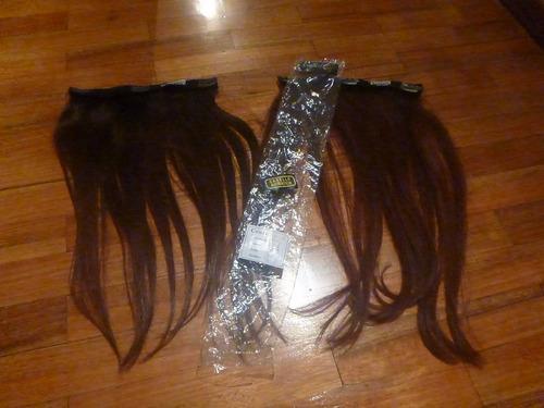 cortinas de cabello natural 100% con micropeinetas