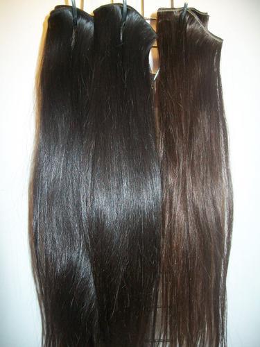 cortinas de cabello virgen y decolorado