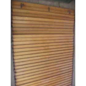 Cortinas De Enrollar Tipo Barrios -madera Rauli -1,55 X 2,20