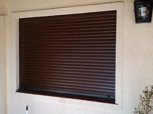 cortinas de enrrollar venta reparacion madera pvc aluminio *