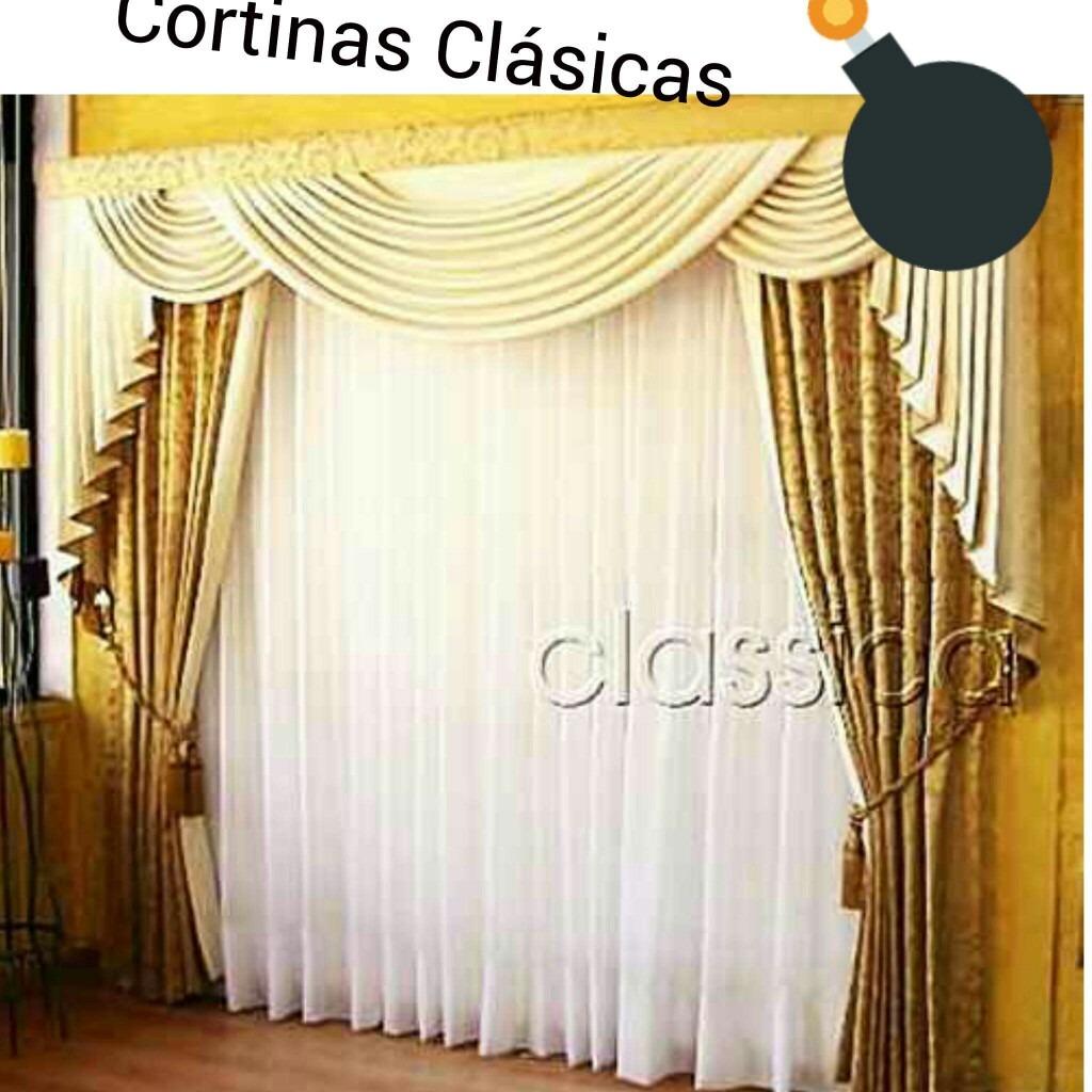 Cortinas de las mejores calidades y dise os de tela u s 48 00 en mercado libre - Telas para visillos cortinas ...