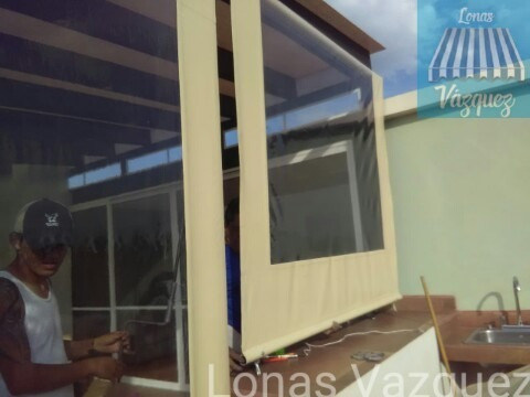 cortinas de lona