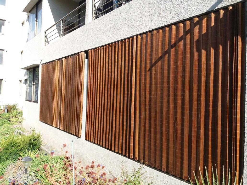 Cortinas de madera para terrazas 26500 mt 2 solicite pres en mercado libre - Terrazas de madera precios ...
