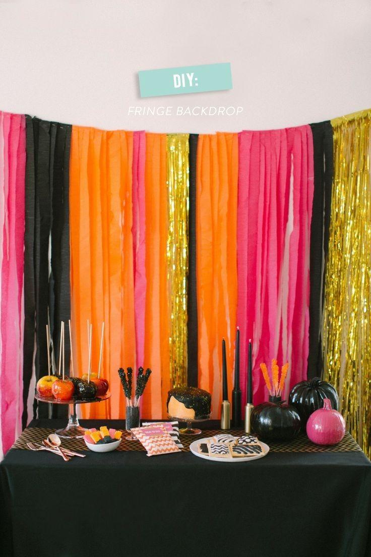 Cortinas de papel fiestas fotoboot y hogar decoraci n - Que cortinas se llevan ...