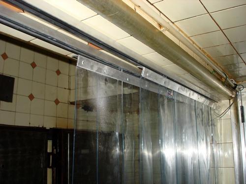 cortinas de pvc transparentes para camaras frigorificas