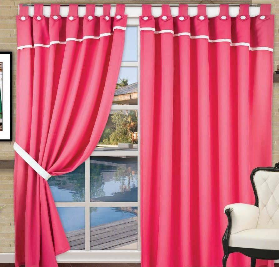cortinas de tela con presillas paos cientos de modelos
