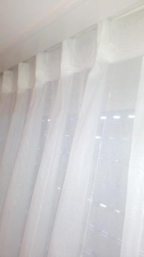 cortinas de voile de hilo de algodon, para riel!