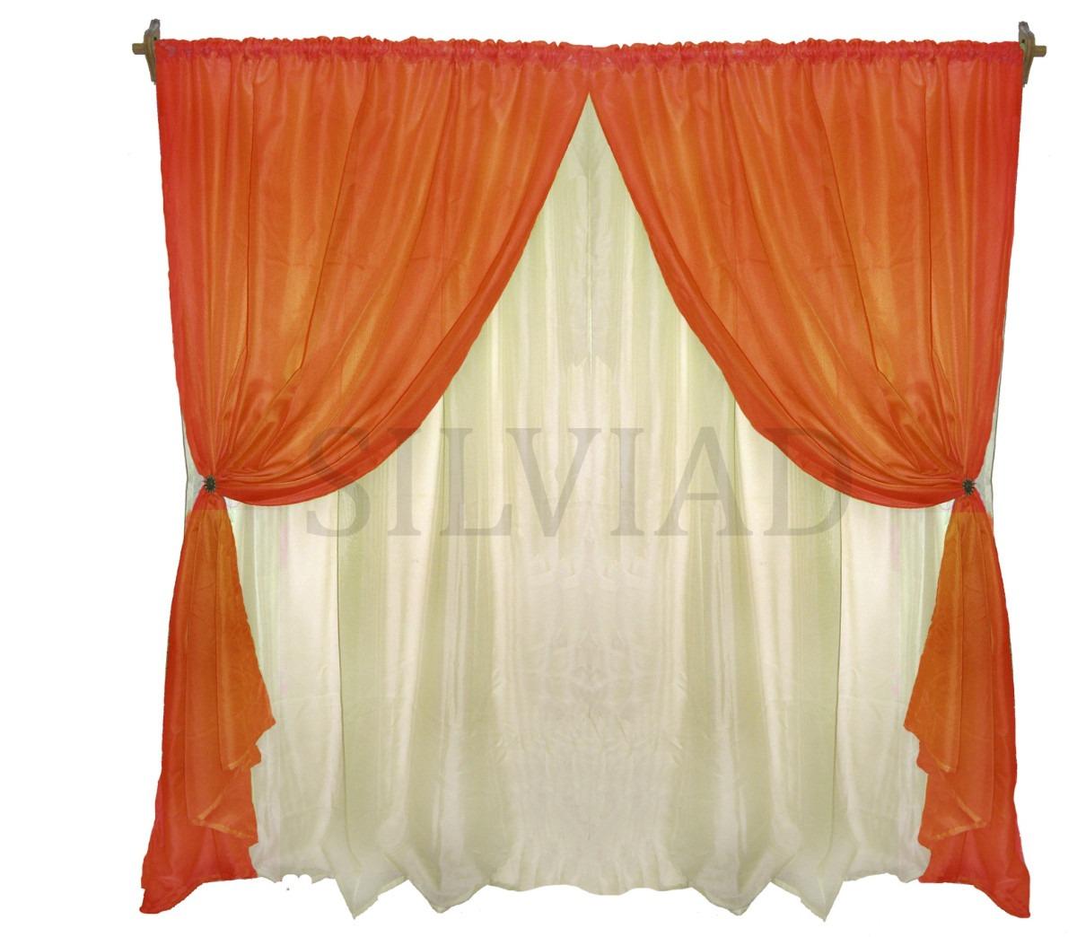 Cortinas tela pinterest flores de tela para cortinas for Cortinas de tela