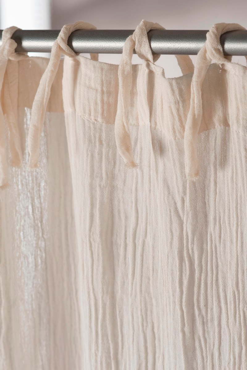 cortinas degrad de gasa de algodn