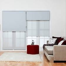 cortinas dobles roller doble paño 4 unid. 2 screen 2 bckout