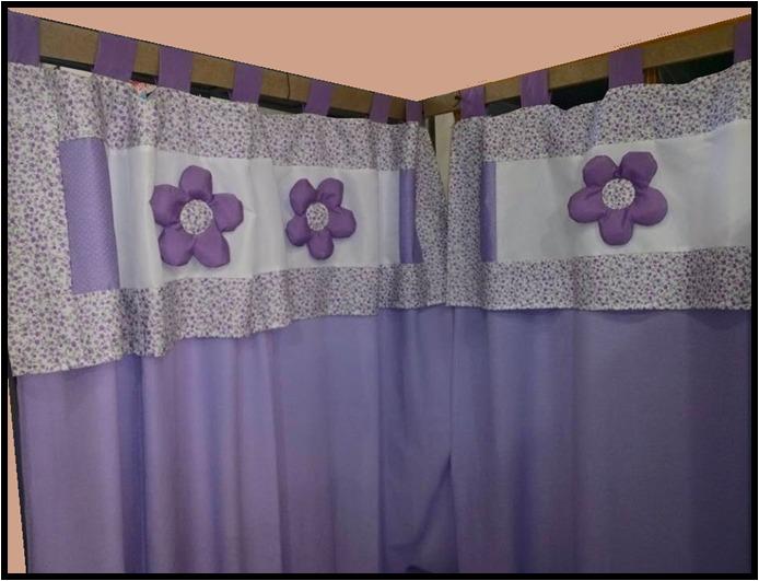 Cortinas dormitorio nia elegant elegant cenefa para - Cortinas dormitorio bebe ...