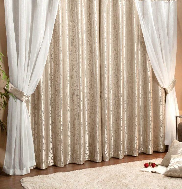 Cortinas Elegantes Sala Y Habitacion Bs 10000 En Mercado Libre - Cortinas-elegantes