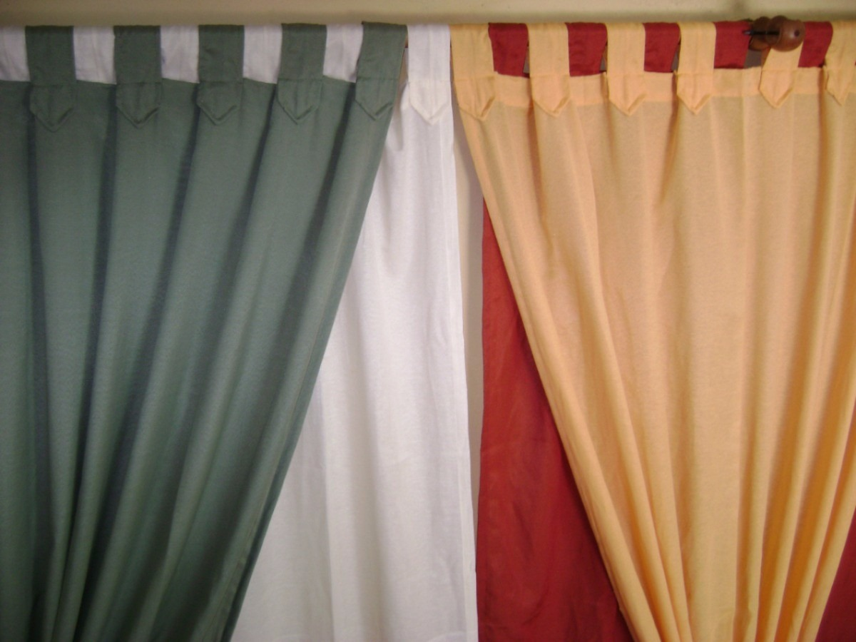 Cortinas en tela panam variedad de colores 150 x 100 - Telas economicas para cortinas ...