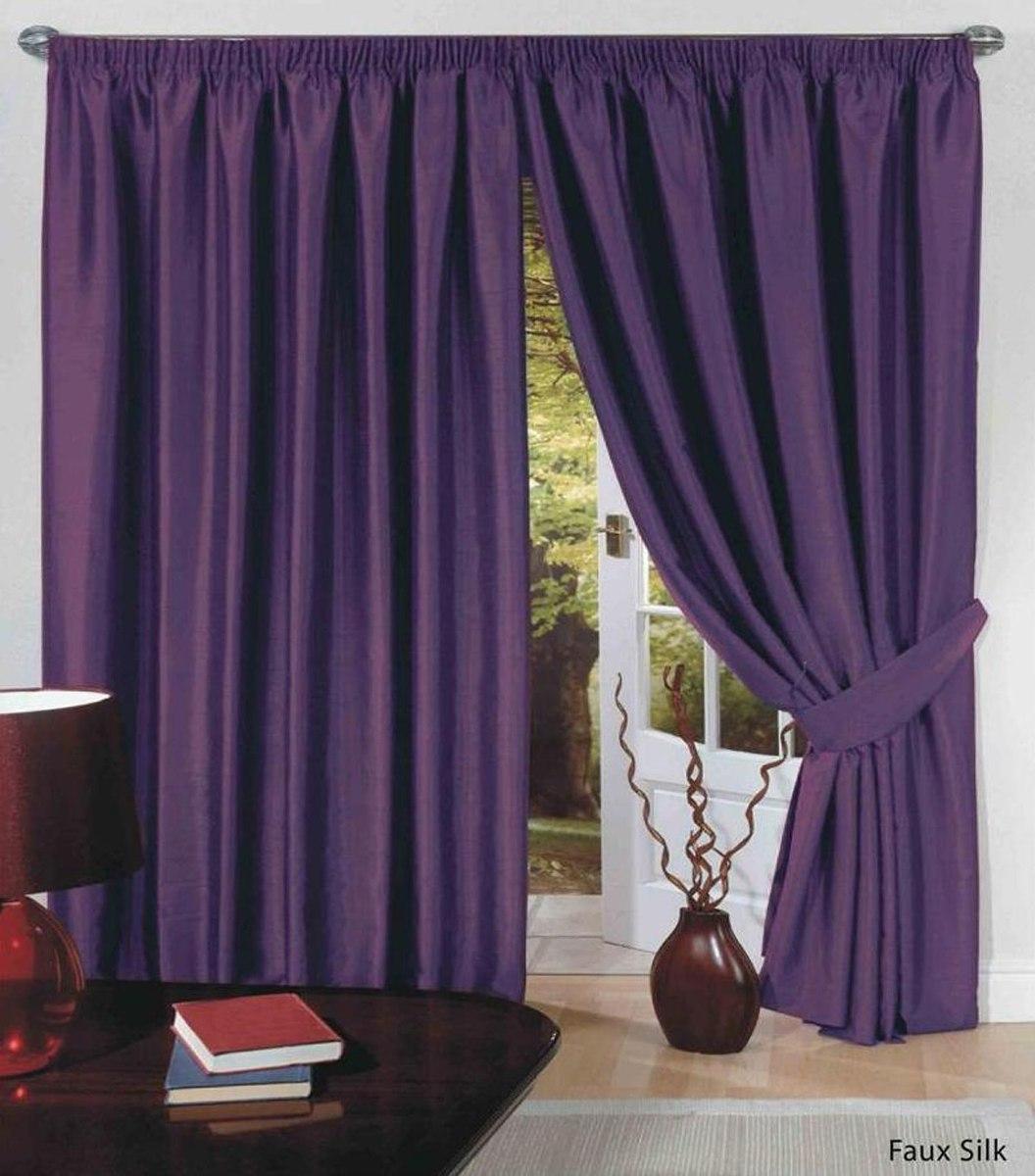 Cortinas en tela raso elegantes para sala y habitacion - Tela para cortina ...