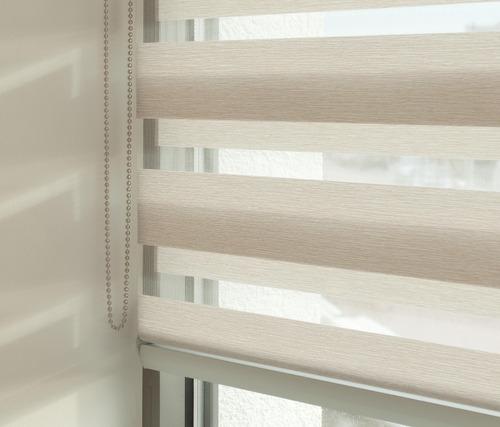 cortinas enrollable roller duo marca sunset -25% en todas su