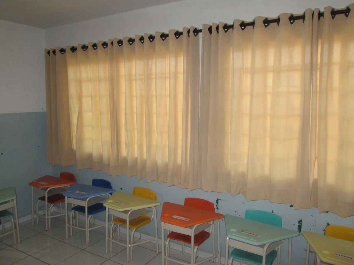 cortinas escolas e sala de aula r 190 00 em mercado livre