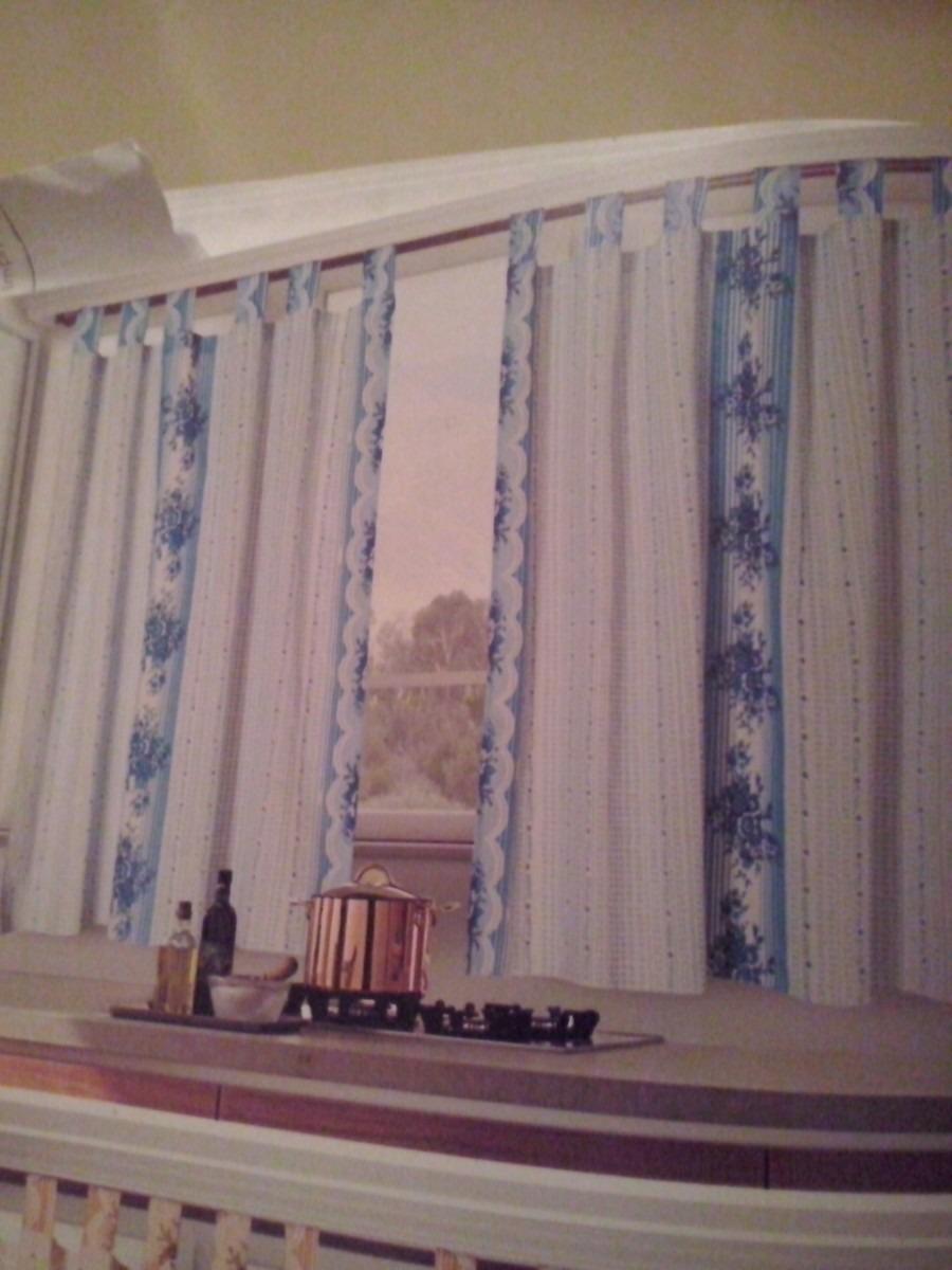 cortinas estampadas para cocina liquido