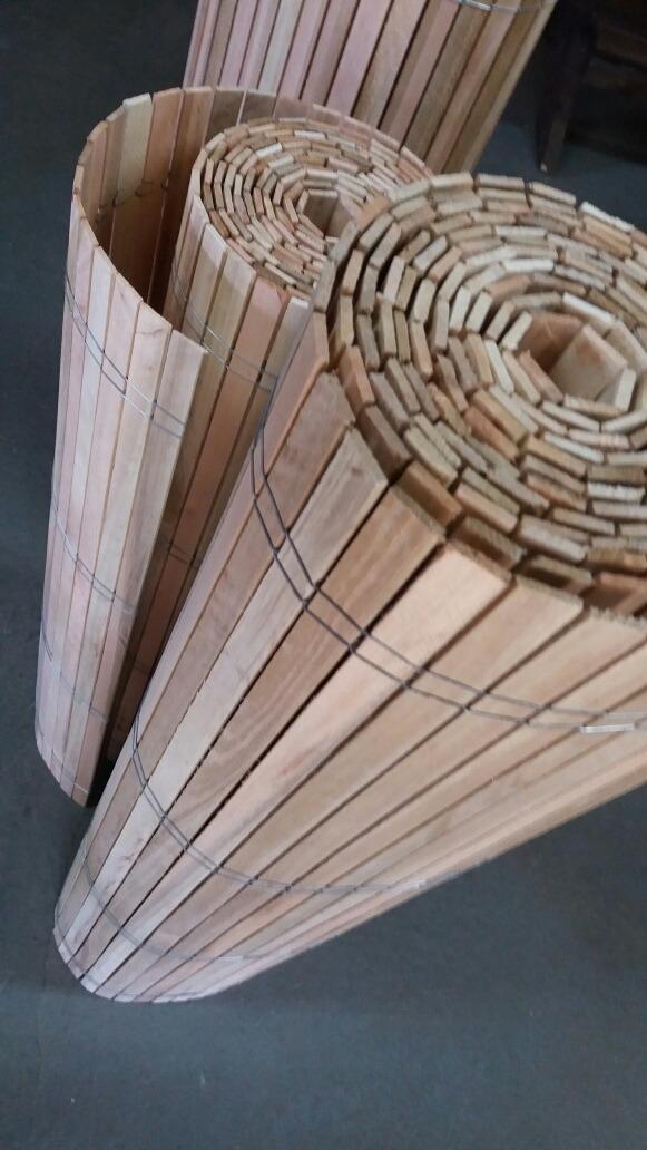 Cortinas Esteras De Madera Eucaliptus De Primera Calidad !!! - $ 480 ...