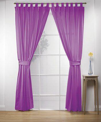 Cortinas gruesas alegro 17 colores a elegir de intima for Colores de cortinas