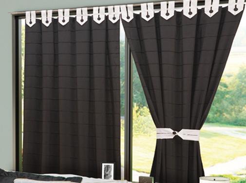 Cortinas habitaciones salas d estar bs en mercado libre - Modelos de cortinas para habitaciones ...