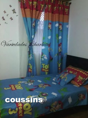 cortinas infantiles dos paneles!