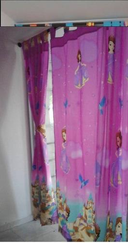 cortinas infantiles dos paneles! pepa green y más
