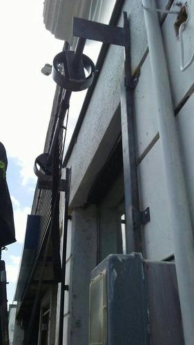 cortinas metalicas enrollar reparación y fabricación resorte