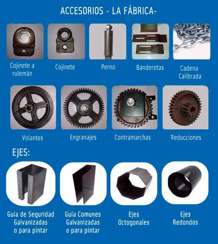 cortinas metálicas -fabricación y colocación-