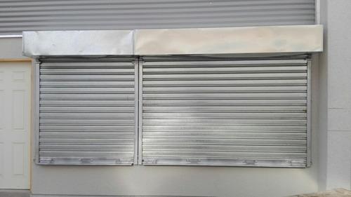 cortinas metalicas - manuales y motorizadas
