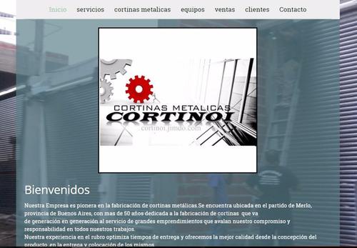 cortinas metalicas oferta consulte medidas precio desde x m2