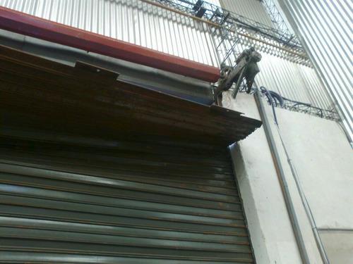 cortinas metalicas, reparación.