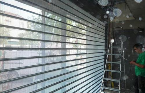 cortinas metálicas reparación