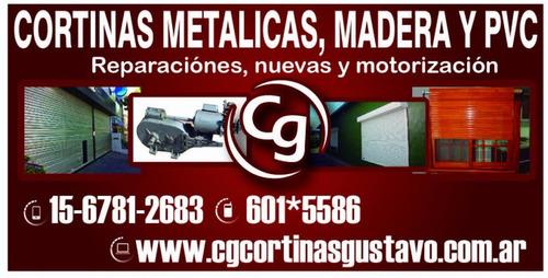 cortinas metálicas ventas y reparación ( urgencias 24hs )