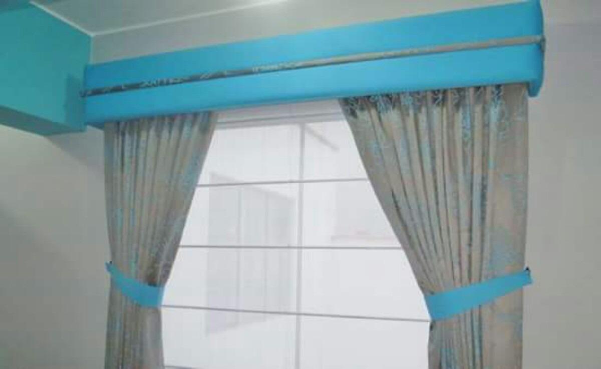 Cortinas modernas s 59 00 en mercado libre for Cortinas de tela modernas