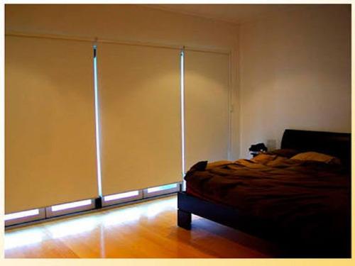 cortinas modernas en roller screen , black out , duo , envio