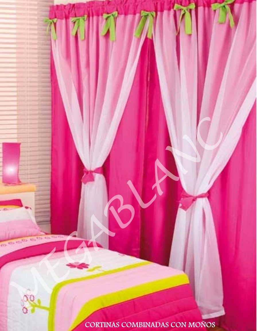 Cortinas modernas ventanas espacios camas cunas - Tipos de cortinas modernas ...