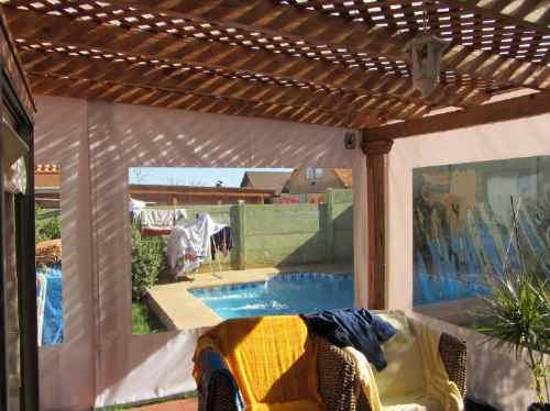Cortinas panoramicas cierres terraza tela pvc for Cortinas de terrazas en patio