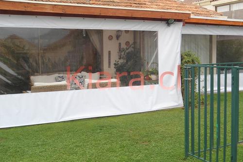 cortinas panoramicas, cierres terraza tela pvc