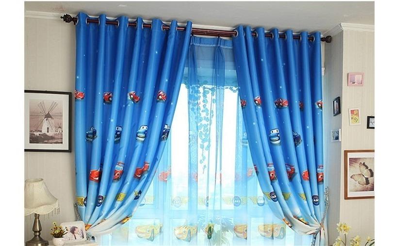Woltu Cortinas Translúcidas con Estrellas para Dormitorio ...
