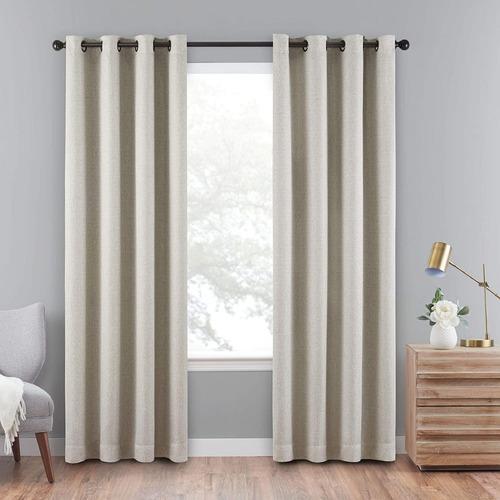 cortinas para oscurecer eclipse blackout con ojales 2 piezas