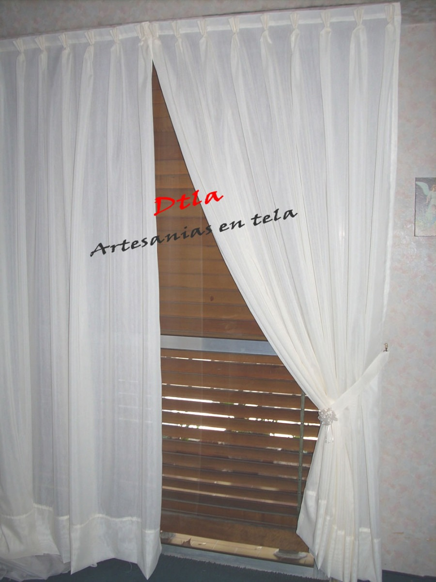 Pin modelos de rieles on pinterest - Tela para cortinas ...
