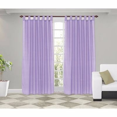 cortinas para sala cuarto y ventanas decoracion - Cortinas Moradas