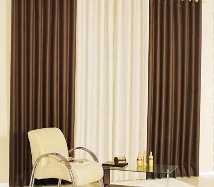 Cortinas para sala, cuarto y ventanas decoracion   bs. 8.600,00 en ...