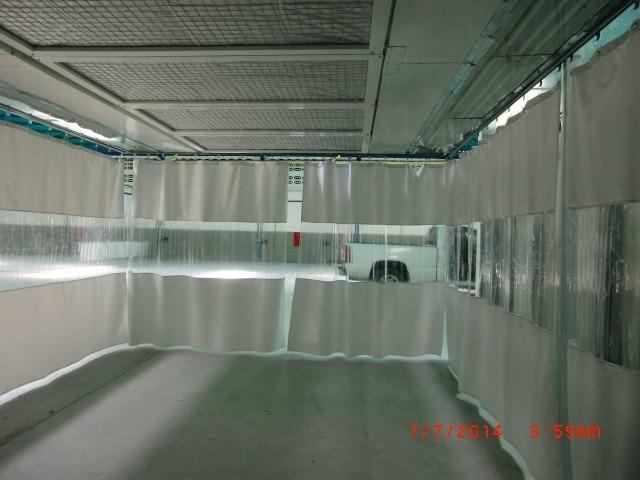 cortinas para separacion de ambientes de talleres por metro