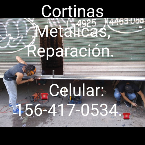 cortinas persianas metálicas reparacion, bobinado de motores