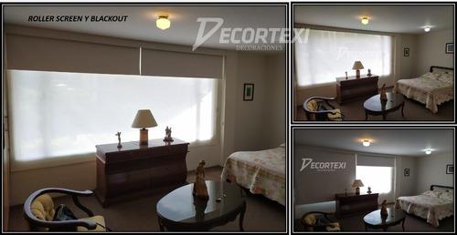 cortinas persianas roller zebras automatización