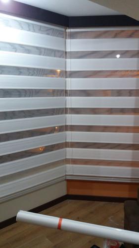cortinas persianas zebras enrrollables screen blackout y mas